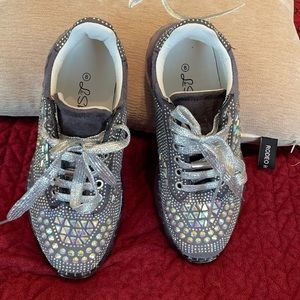 Bedazzled sneaks 8